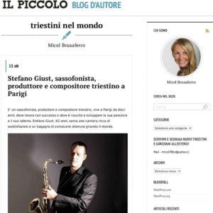Stefano Giust La Repubblica Il Piccolo